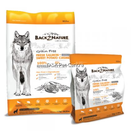 Back2Nature Grain Free Salmon Dog Food 1.8kg